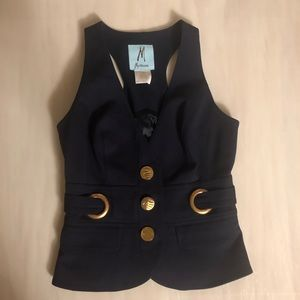 MARCIANO 2 Piece Set Vest & Bell Bottom